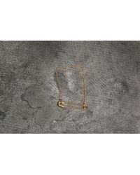 Footshop - Cheap Monday Safety Pin Bracelet Gold - Lyst