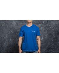 Footshop - Polar Skate Co. Stroke Logo Tee 80's Blue - Lyst
