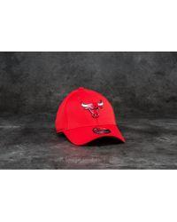 KTZ - 39thirty Logo Pack Chicago Bulls Cap Scarlet - Lyst