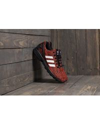 adidas Originals - Adidas Zx Flux Core Black/ Footwear White/ Red - Lyst