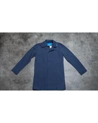 by Parra - Nylon Rain Coat Navy Blue - Lyst