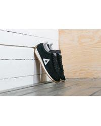 Footshop - Le Coq Sportif Quartz Perforated Nubuck Black/ Turtle Dove - Lyst