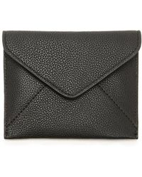 Forever 21 - Pebbled Faux Leather Envelope Wallet - Lyst