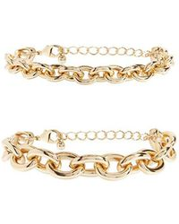 Forever 21 - Cable Chain Bracelet Set - Lyst