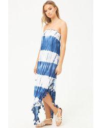 Forever 21 - Women's Boho Me Tie-dye Maxi Dress - Lyst
