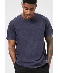 Forever 21 - T-shirt in tessuto fiammato - Lyst