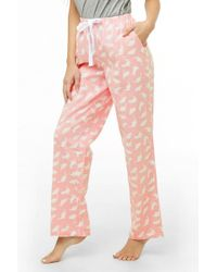Forever 21 - Dinosaur Print Pajama Pants - Lyst