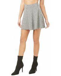 Forever 21 - Metallic Mini Skirt - Lyst