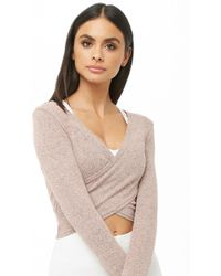 Forever 21 - Active Marled Top - Lyst