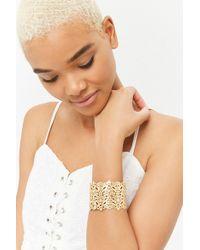 Forever 21 - Filigree Cuff Bracelet - Lyst