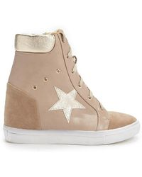 Forever 21 - High-top Wedge Sneakers - Lyst