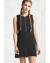 61c0b02c28b Lyst - Forever 21 Plus Size Corset T-shirt Dress in Black