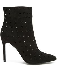 Forever 21 - Studded Stiletto Booties - Lyst