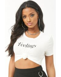 Forever 21 - Feelings Graphic Tee - Lyst