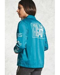 Forever 21 - Feel The Heat Coach Jacket - Lyst
