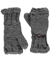 Forever 21 - Cable Knit Convertible Gloves - Lyst