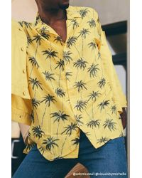Forever 21 - Palm Tree Shirt - Lyst