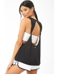 Forever 21 - Active Back Cutout Muscle Tee - Lyst