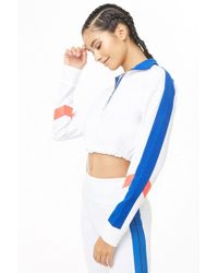 Forever 21 - Active Colorblock Cropped Pullover - Lyst