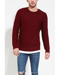 Forever 21 | Textured Knit Jumper | Lyst