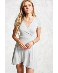 Forever 21 - Heathered Skater Dress - Lyst