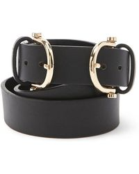 Forever 21 - Faux Leather Double-buckle Hip Belt - Lyst