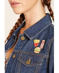 Forever 21 - Fast Food Enamel Pin Set - Lyst