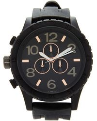 Forever 21 - Men Silicone-strap Matte Watch - Lyst