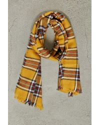 Forever 21 - Men Woven Plaid Scarf - Lyst