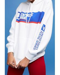 Forever 21 - Usps Express Mail Graphic Hoodie - Lyst