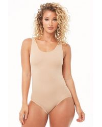 Spanx Assets By Reversible Bodysuit At , White/nude