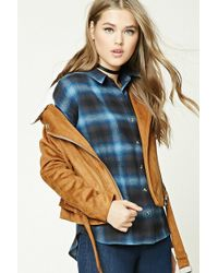 Forever 21 - Buffalo Check Flannel Shirt - Lyst