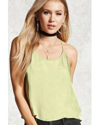 Forever 21 - Satin Cami - Lyst