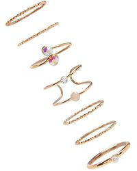 FOREVER21 - Stackable Ring Set - Lyst