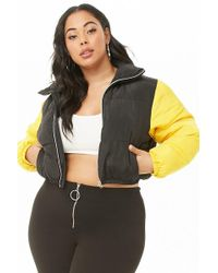 Forever 21 - Women's Plus Size Shaci Puffer Jacket - Lyst