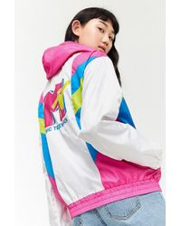 Forever 21 - Mtv Graphic Colorblock Anorak - Lyst