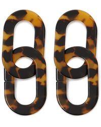 Forever 21 - Tortoiseshell Drop Earrings - Lyst
