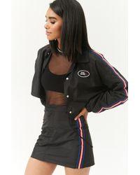 Forever 21 - Side-striped Mini Skirt - Lyst