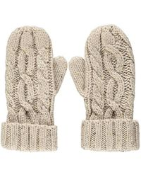 Forever 21 - Cable Knit Mittens - Lyst