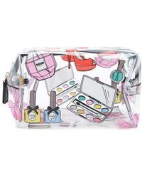 Forever 21 - Graphic Clear Makeup Bag - Lyst