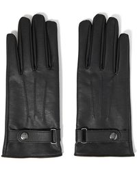 Forever 21 - Belted Faux Leather Gloves - Lyst