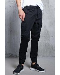 Forever 21 - Woven Cargo Joggers - Lyst