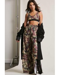 Forever 21 - Kikiriki Crop Top & Pants Set - Lyst