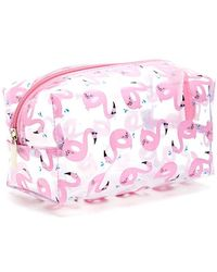 Forever 21 - Flamingo Print Makeup Bag - Lyst