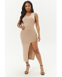 Forever 21 - Racerback Bodycon Dress - Lyst