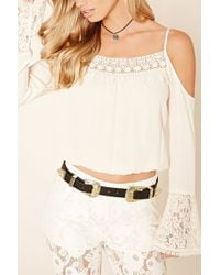 Forever 21 - Btb Two-buckle Belt - Lyst