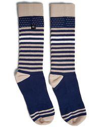 Forever 21 - Men Richer Poorer Stripe Crew Socks - Lyst