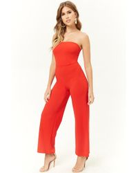 d7b0f55b9e62 Susana Monaco Tube Jumpsuit in Purple - Lyst