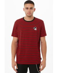 d94be9e9 Forever 21 - 's Striped Mickey Mouse Tee Shirt - Lyst