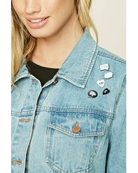 Forever 21 - Speech Bubble Pin Set - Lyst